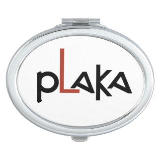 Logotipo de Plaka Espejos Para El Bolso