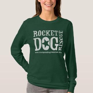 Logotipo de RDR (blanco/estrella del espacio en Camiseta