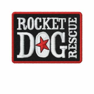 Logotipo de RDR bordado (rojo/negro) Sudadera Bordada Con Capucha