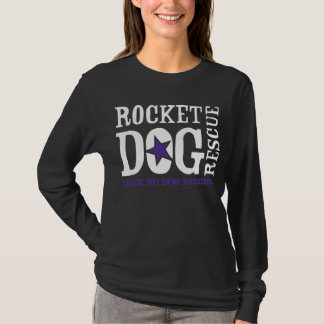 Logotipo de RDR (púrpura/blanco) Camiseta