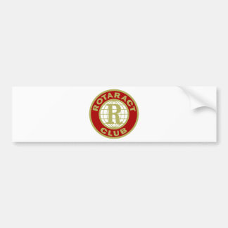 Logotipo de Rotaract Pegatina Para Coche