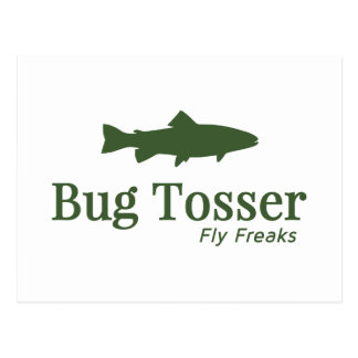 Logotipo de Tosser del insecto Postal