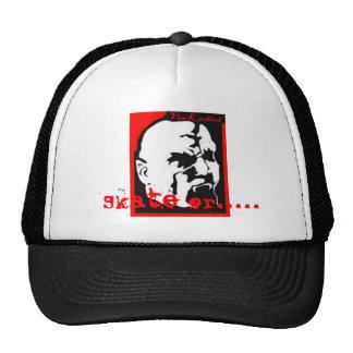 logotipo de von knoblock, patín o ..... gorras