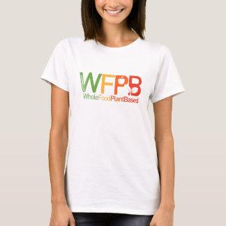 Logotipo de WFPB - blanco de la camiseta