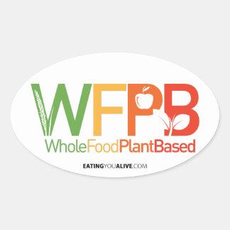 Logotipo de WFPB - pegatina ligero