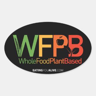 Logotipo de WFPB - pegatina oscuro