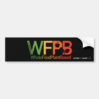 Logotipo de WFPB - pegatina para el parachoques