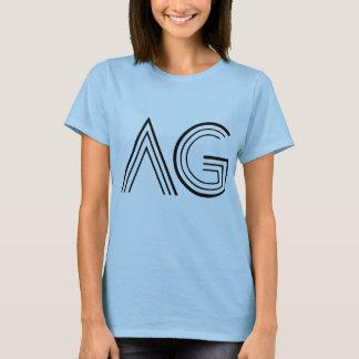 Logotipo del AG mujeres Camiseta