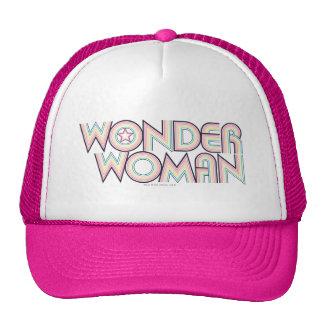 Logotipo del arco iris de la Mujer Maravilla Gorra