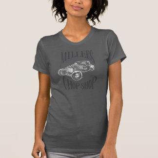 Logotipo del arte de Rod de la rata de la recogida Camisetas