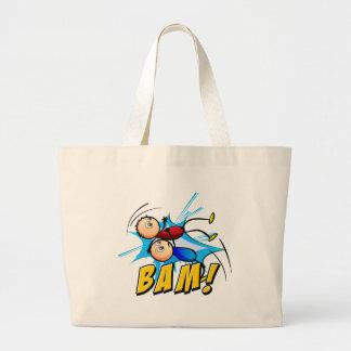 Logotipo del Bam Bolsa Tela Grande