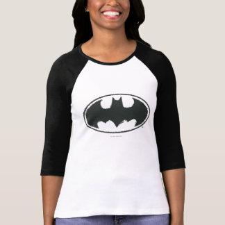 Logotipo del blanco del negro del aerosol del camiseta