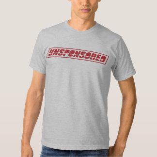 Logotipo del bloque de Usponsored Camisetas