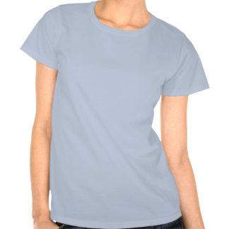 Logotipo del caballero apenado camiseta