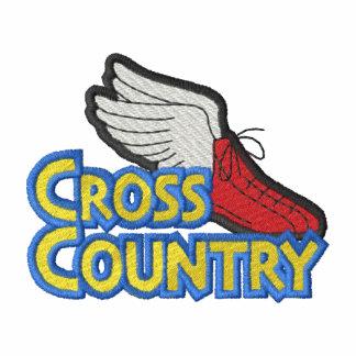 Logotipo del campo a través camiseta polo