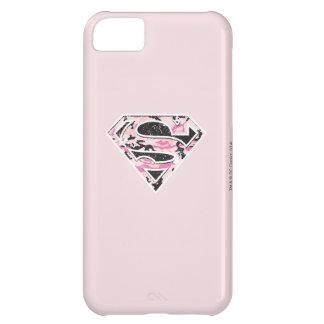 Logotipo del camuflaje de Supergirl Funda Para iPhone 5C