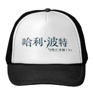Logotipo del chino de Harry Potter Gorros Bordados
