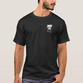 Logotipo del cráneo de LabKitty (bolsillo) Camiseta