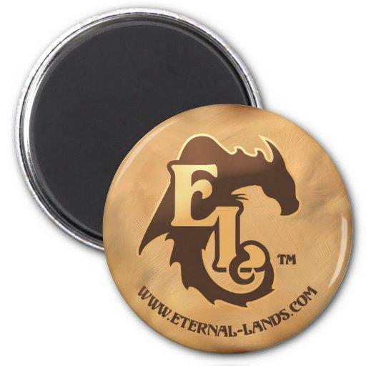 Logotipo del EL - imán