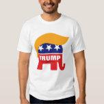 Logotipo del elefante del GOP del pelo de Donald Camiseta
