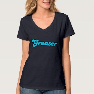 Logotipo del engrasador camisas