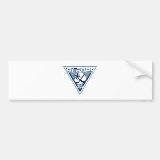 Logotipo del equipo de hockey del hielo de las cuc pegatina para coche