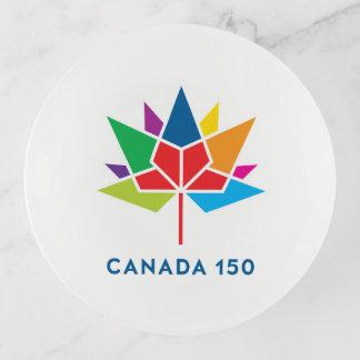 Logotipo del funcionario de Canadá 150 -