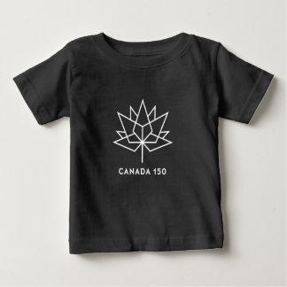 Logotipo del funcionario de Canadá 150 - blanco y Camiseta De Bebé