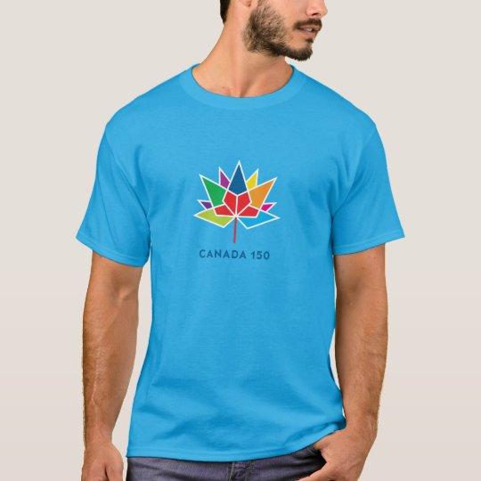 Logotipo del funcionario de Canadá 150 - Camiseta