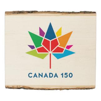 Logotipo del funcionario de Canadá 150 - Panel De Madera
