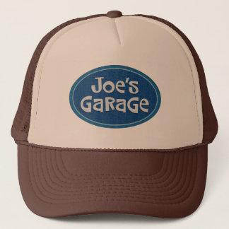 Logotipo del garaje de Joe retro Gorra De Camionero
