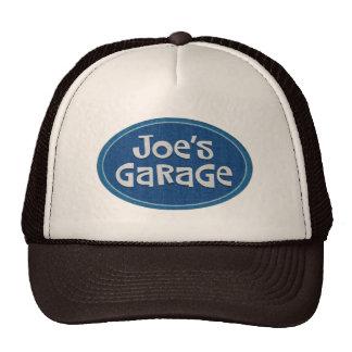 Logotipo del garaje de Joe retro Gorros