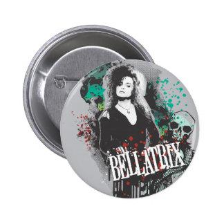 Logotipo del gráfico de Bellatrix Lestrange Chapa Redonda 5 Cm