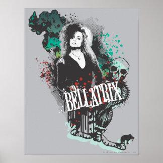 Logotipo del gráfico de Bellatrix Lestrange Impresiones