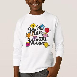 Logotipo del grupo de Sr. Men Little Srta. el | Camiseta