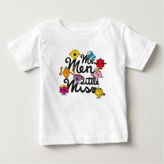 Logotipo del grupo de Sr. Men Little Srta. el | Camiseta De Bebé