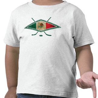 Logotipo del hockey sobre hielo de México Camiseta
