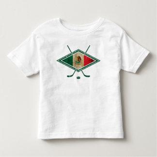 Logotipo del hockey sobre hielo de México Camiseta De Bebé