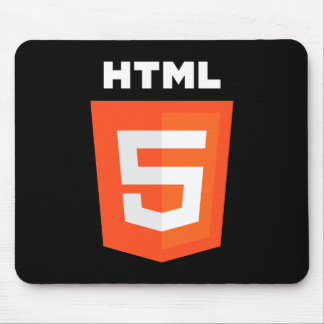 Logotipo del HTML 5 Alfombrilla De Ratón