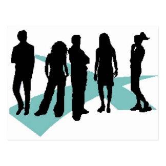 logotipo del icono del lifegroup de los cruces postal