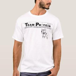 Logotipo del laboratorio de la colina/proteína del camiseta