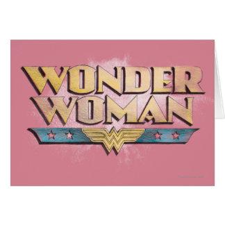 Tarjetas de felicitación de la Mujer Maravilla en Zazzle