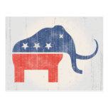 Logotipo del mamut del GOP Postales