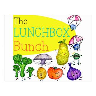Logotipo del manojo de la caja del almuerzo postal