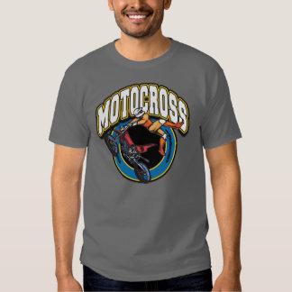 Logotipo del motocrós camisetas