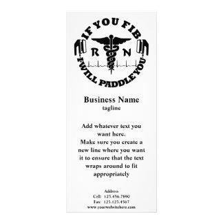 Logotipo del negocio con el texto de encargo tarjetas publicitarias