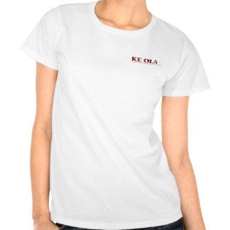 Logotipo del Ola de KE de las señoras Camisetas