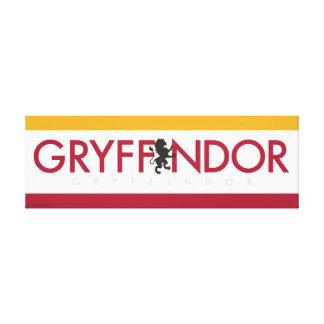 Logotipo del orgullo de la casa de Harry Potter el Impresión En Lienzo