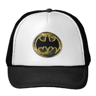Logotipo del oro de Batman Gorro