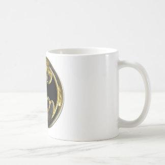 Logotipo del oro de Batman Taza